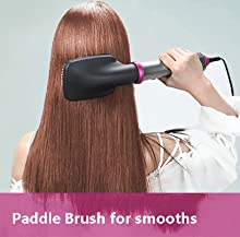Large Paddle Brush for smooths and straightens on long hair