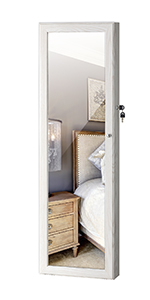 Jewelry Mirror Armoire Cabinet
