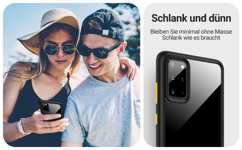 Eono By Amazon Hybrid Clear Case For Samsung Galaxy Elektronik