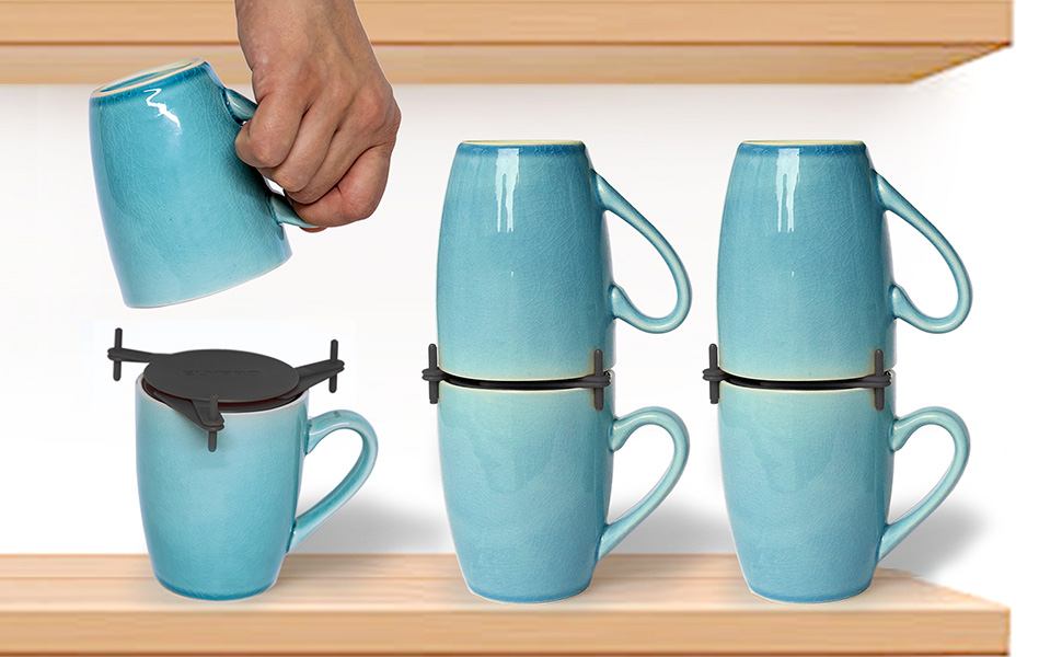 cabinet tea cups teacups shelf under sink wire corner stacking shelves small holder large plastic