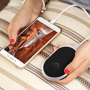Wilk 5V Mini Portatile scaldamani Carica elettrica Silicone Viaggi pi/ù Calde Mini Esterna Ufficio scaldamani a Mano USB