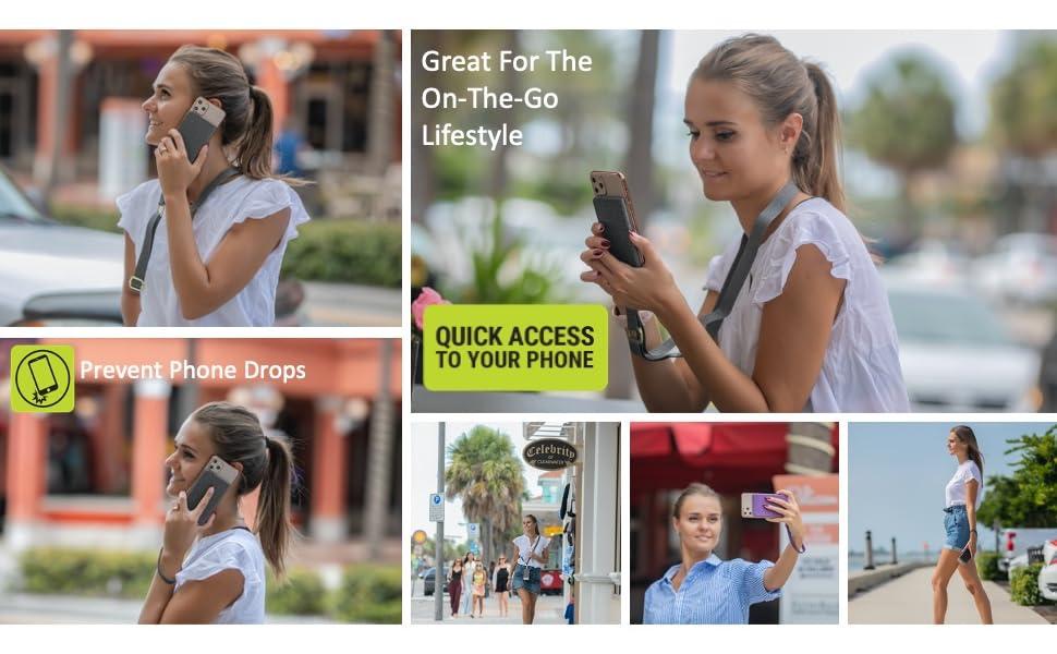 best phone lanyard iphone galaxy smartphone carrier holder strap wrist running walking seniors