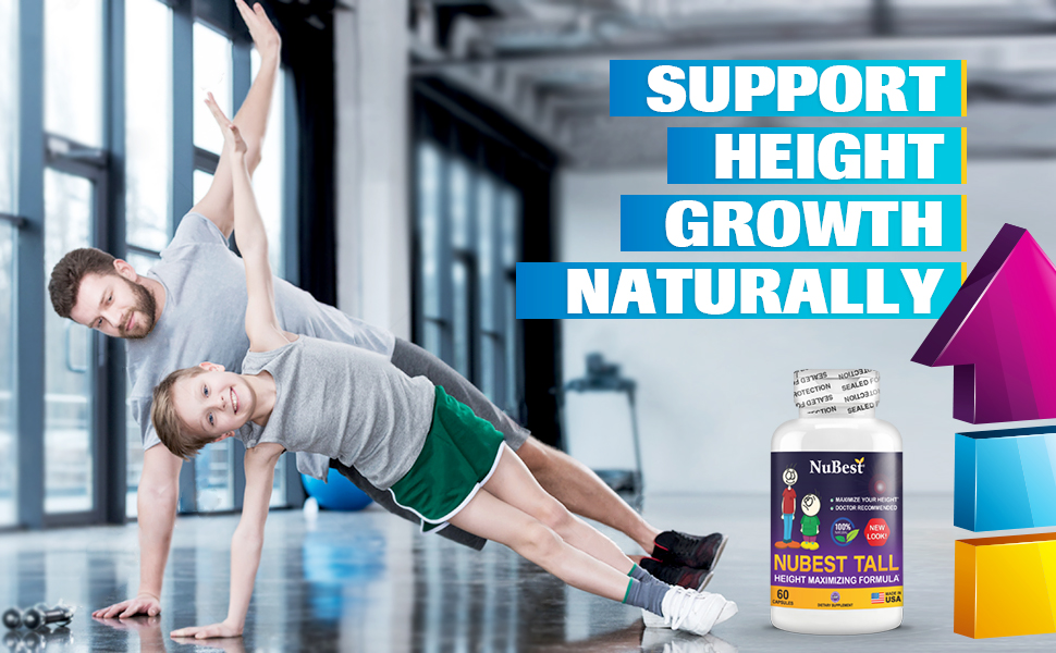 Maximum Natural Height Growth Formula Calcium Hydrolyzed Collagen Precious Herbs