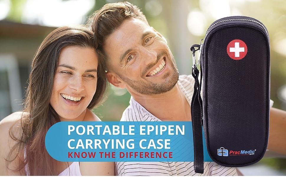 Portable EpiPen Carrying Case