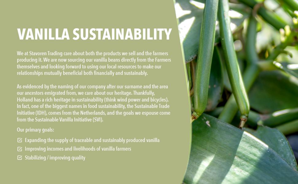 Vanilla Sustainability