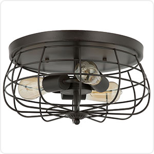 CO-Z Cage Ceiling Light