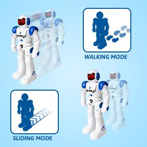 Two walking Mode