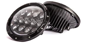 Jeep Wrangler Renegade  Hummber harley  led headlight headlamp head light lamps