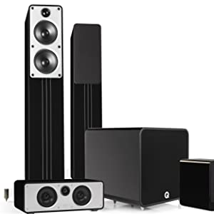 Q Acoustics Q B12 subwoofer 5.1 plus home cinema sound system