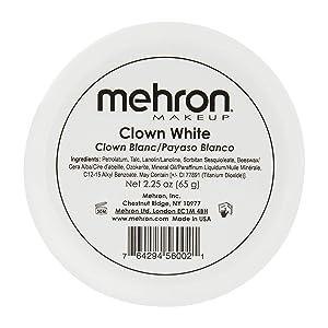 clown white make up kit makeup paradise mahron nye ben