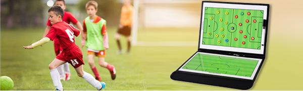Soccer Ball Coaching Clipboard