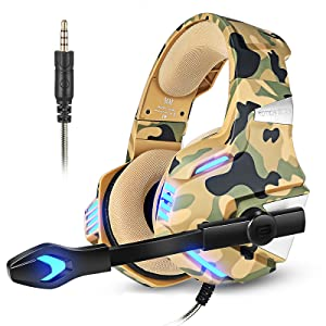 camo gaming headset