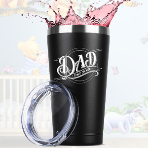 new dad birthday birth gift for women and men him her tumbler tumblers stainless steel insulated