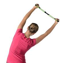 Stretch posture with Posture Medic