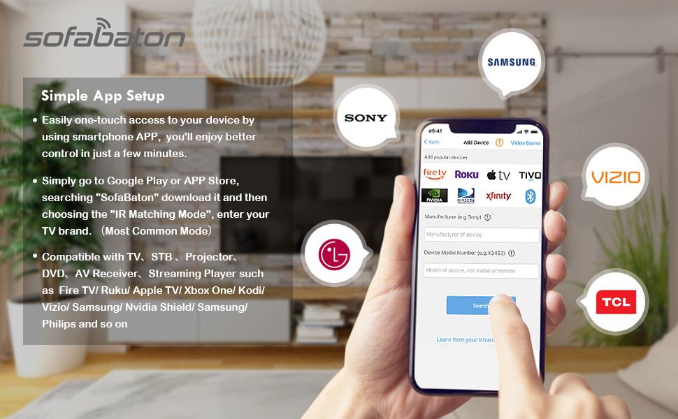 Samsung universal remote control apple tv