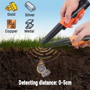 detector de metales portatil