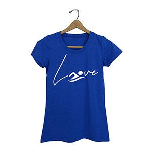 love swimming shirt tee top