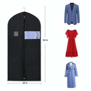 suit bags for closet