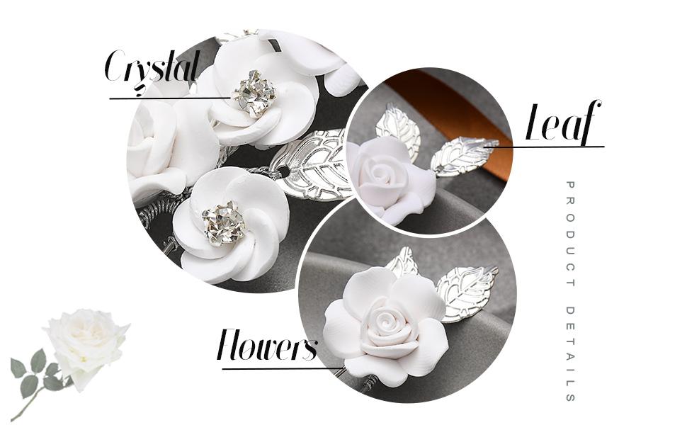 bridal flower pins
