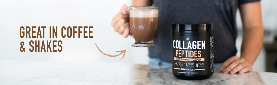 Sports Research Chocolate Hydrolyzed Collagen Peptides