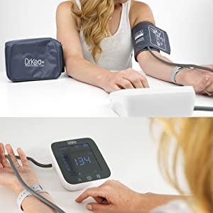 blood pressure monitor monitors bp machine cuff large kit upper arm wrist automatic fully pulse rate