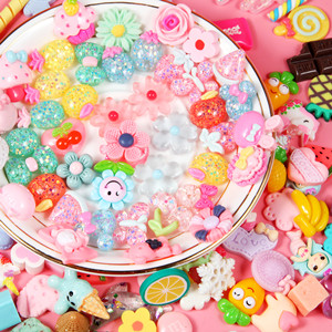 10 Kitty Donut Pieces Slime Charms  Slime  Slime Shops  Slime Supplies  Cabochons  Charms for Slime  Clear Slime  Cheap Slime