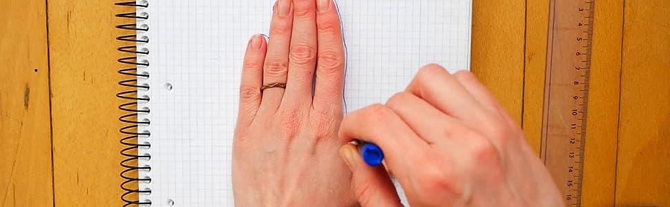 Perfecte Handschuhgröße: messen