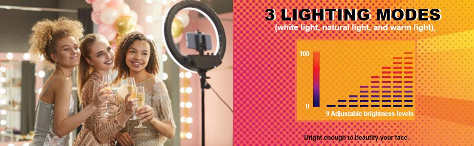 lighting modes