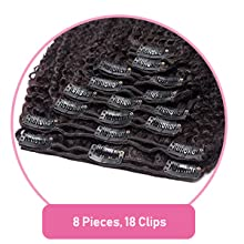 Total 8 Pieces, 18 Clips