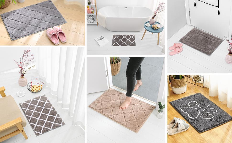 alfombra para el baño