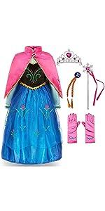 Princess Costume, Blue