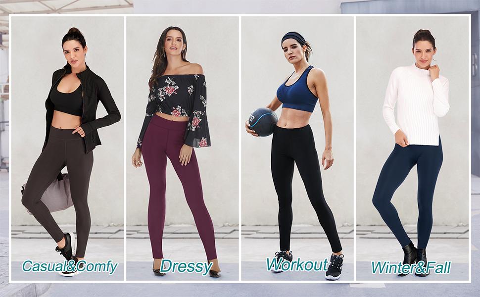 high waisted leggings for women