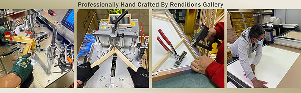 Professionally Hand Crafted By Renditions Gallery