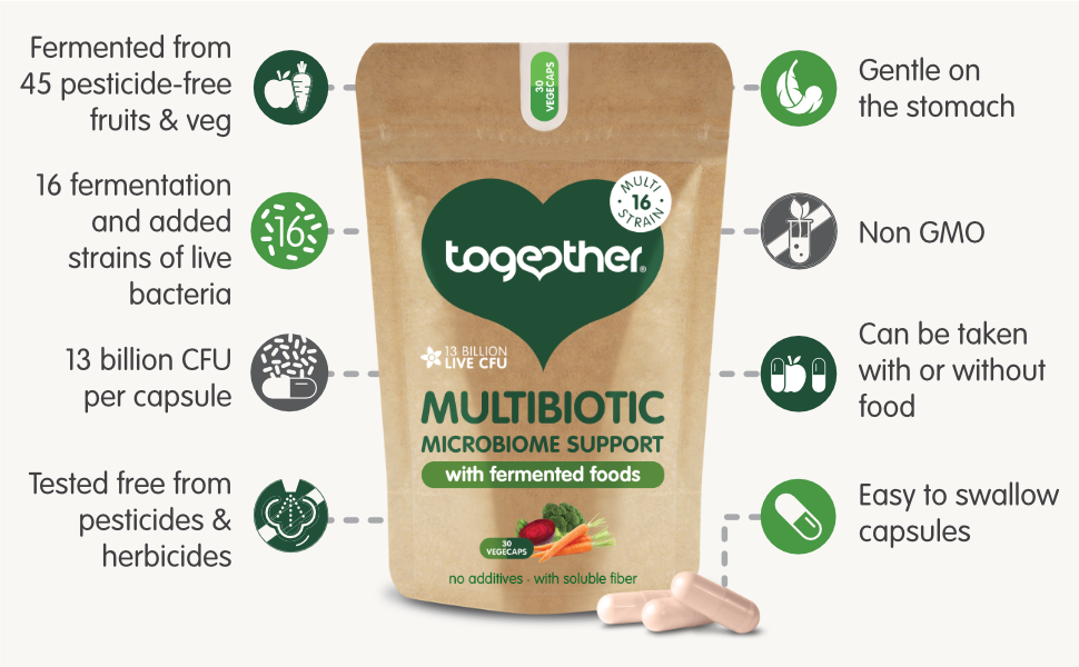Together Multibiotic benefits