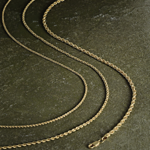 Jewelry Atelier Gold Filled Rope Chain