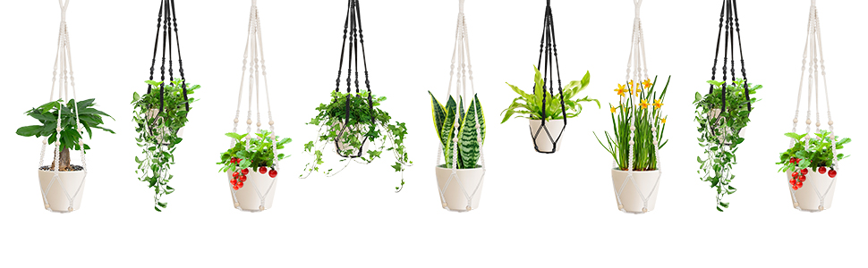 1958LLC plant hanger suitable for various pot shapes and sizes