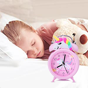 Portable Unicorn Alarm Clock just for your Girls