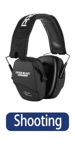 PROHEAR 016 Shooting Ear Protection Safety Earmuffs