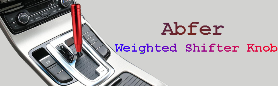 Abfer Weighted Shifter Knob