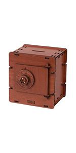 Retro safe coin box
