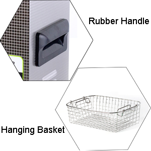 3L cleaner with basket