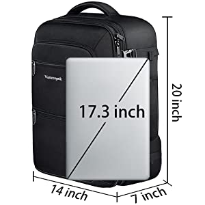 expandable size backpack