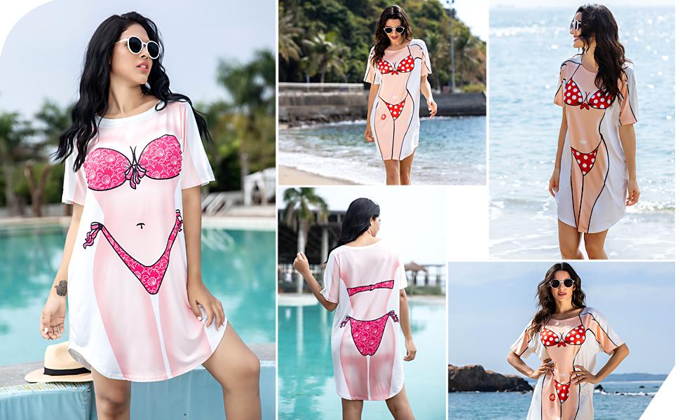Bikini coverup shirt