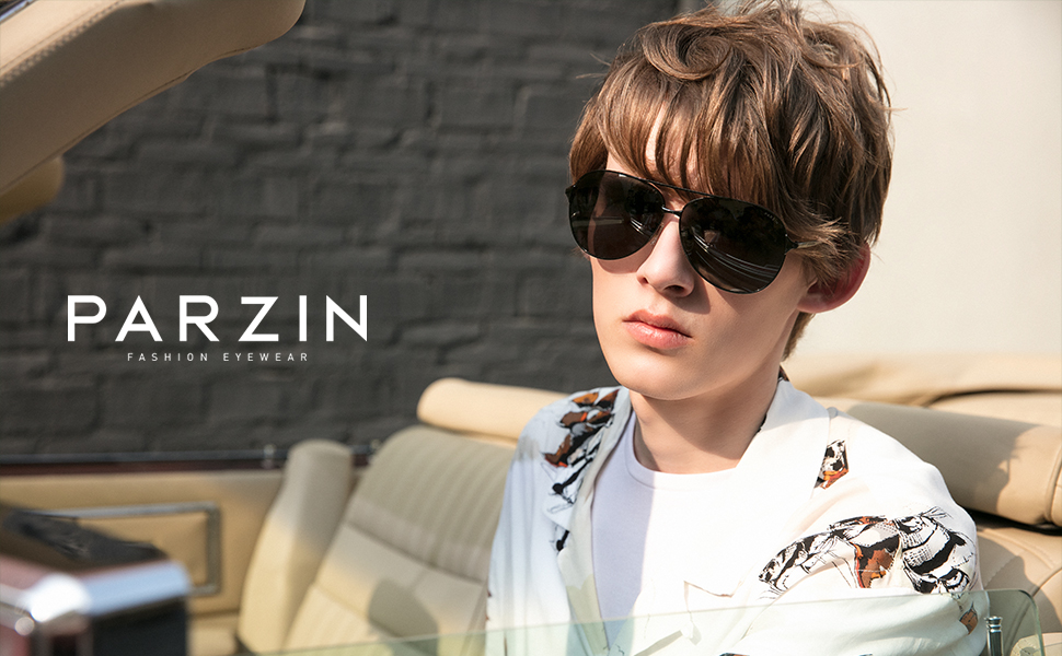 Cool Infant Toddler Aviator Sunglasses PARZIN Protection Pilot for Boys and Girls Eyewear