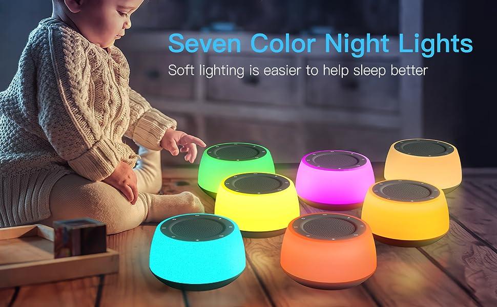Sound Machine With Night Light