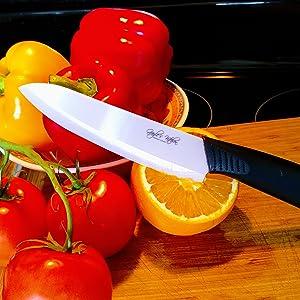 Fruits and veggies, Ceramic Knife