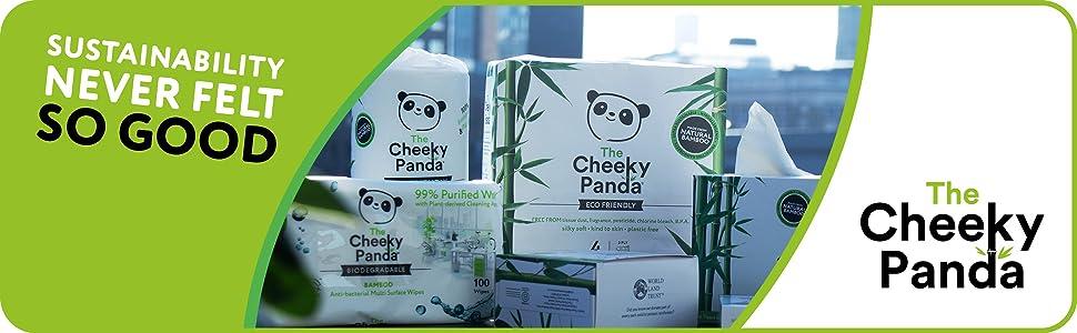 The cheeky panda product range