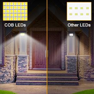 motion sensor light outdoor solar powered