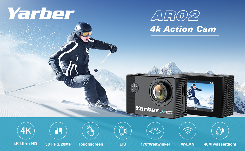 Real 4K action camera