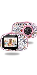 Kinder Digitalkamera Geschenk, MP3 MP4-Spiel 2,0 Zoll 32 GB TF-Karte Wiederaufladbare Kamera